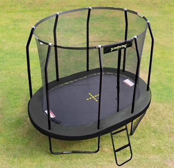 Jumpking Trampolin Oval Black 3,5 x 2,44 m
