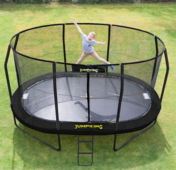 Jumpking Trampolin Black Oval 4,6 x 3,05 m