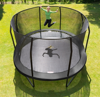 Jumpking Trampolin Oval Black 5,2 x 4,25 m