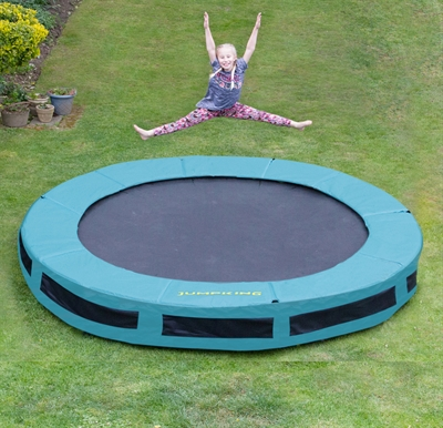 Jumpking Inground Trampolin - Ø3,7 m